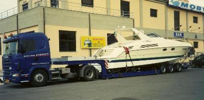 trasporto imbarcazione