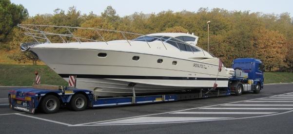 trasporto nautici, yacht, trasporti lago di garda